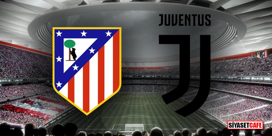 Atletico Madrid – Juventus maçı hangi kanalda şifresiz!