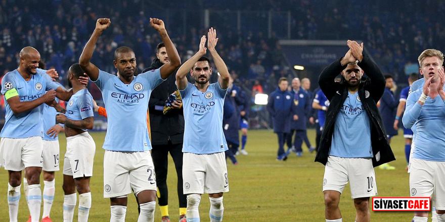 10 kişi kalan Manchester City'den muhteşem geri dönüş!