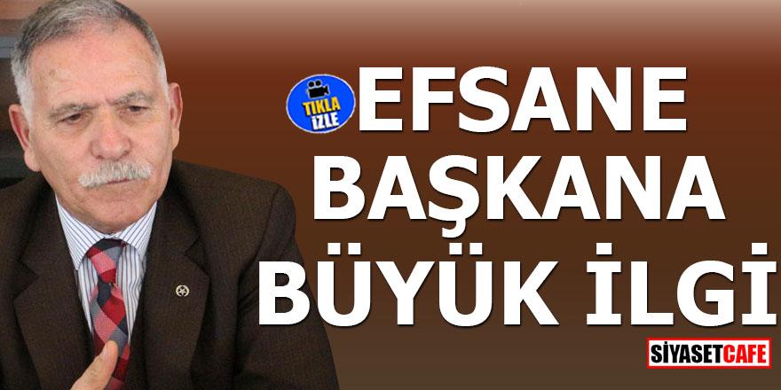 Efsane başkan Tuncay Mutluer'e büyük ilgi
