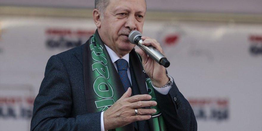 Erdoğan: Zillet ittifakı CHP-HDP logolarını kullanamıyor