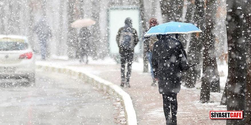 Meteorolojiden o illere uyarı! Kar geliyor…