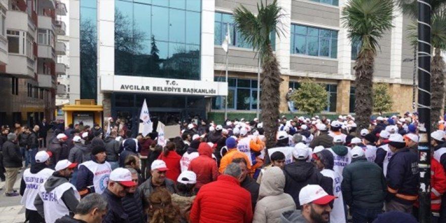 İşçiler Avcılar belediyesini bastı!