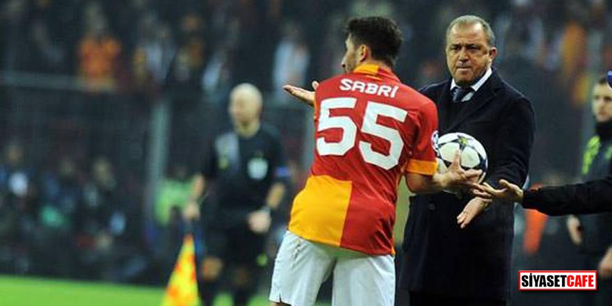 Sabri Sarıoğlu ile Fatih Terim arasında gülümseten diyalog