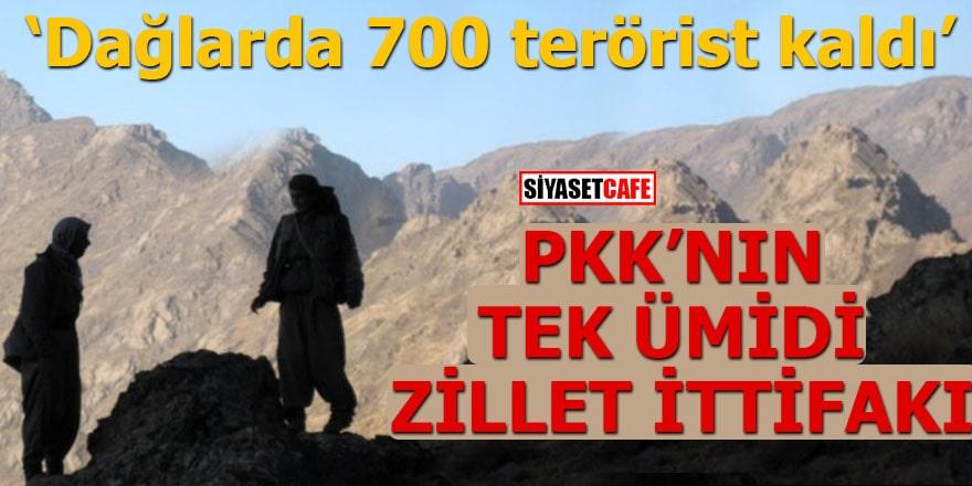 PKK'nın tek ümidi zillet ittifakı