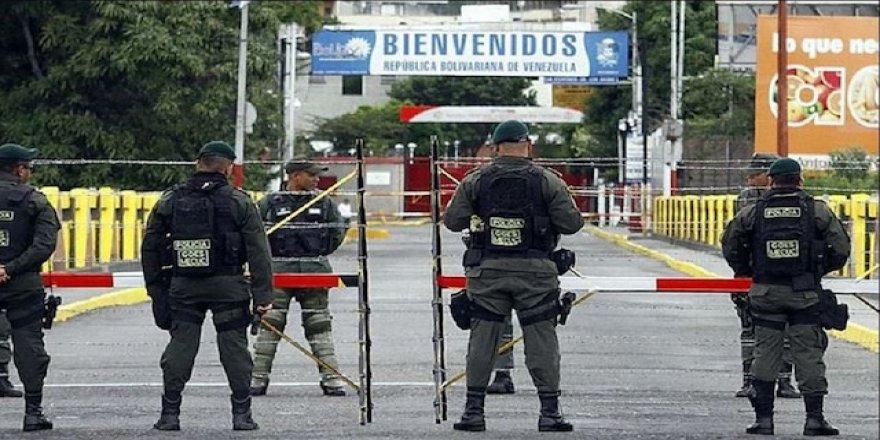 Venezuela hükümeti Kolombiya sınırlarını kapattı!
