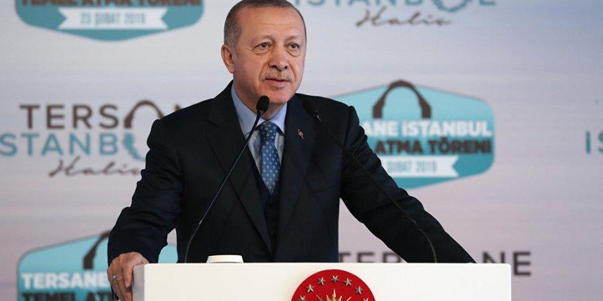 Erdoğan: İsteseler de istemeseler de temeli attık
