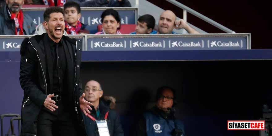 Juventus maçında tepki çekmişti! Simeone'den açıklama…