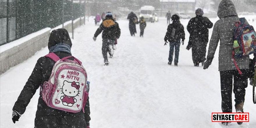 Çanakkale'de eğitime kar molası