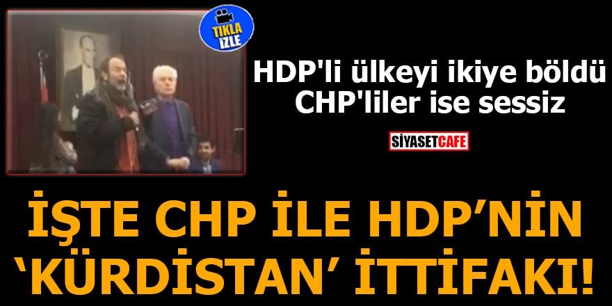 İşte CHP ile HDP'nin 'kürdistan' ittifakı