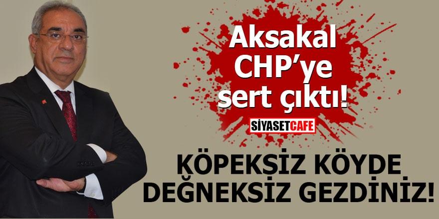 Aksakal CHP'ye sert çıktı: Köpeksiz köyde değneksiz gezdiniz