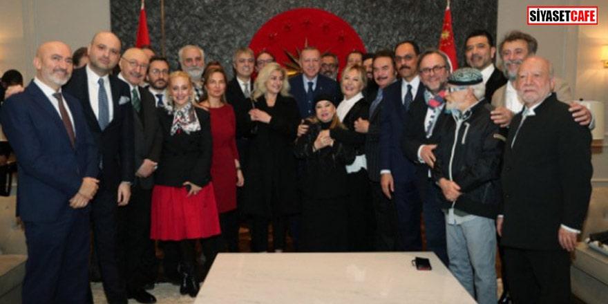 Sanatçılardan Cumhurbaşkanı Erdoğan'asürpriz doğum günü