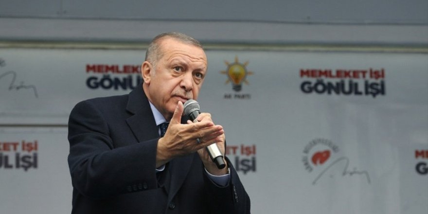 Erdoğan'dan HDP tepkisi: Bizim Kürdistan diye bir bölgemiz yok