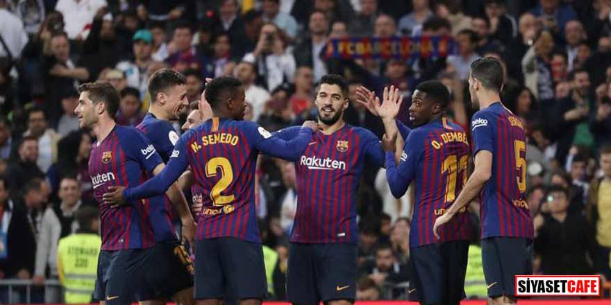 Deplasmanda Real Madrid'i deviren Barcelona finale yükseldi