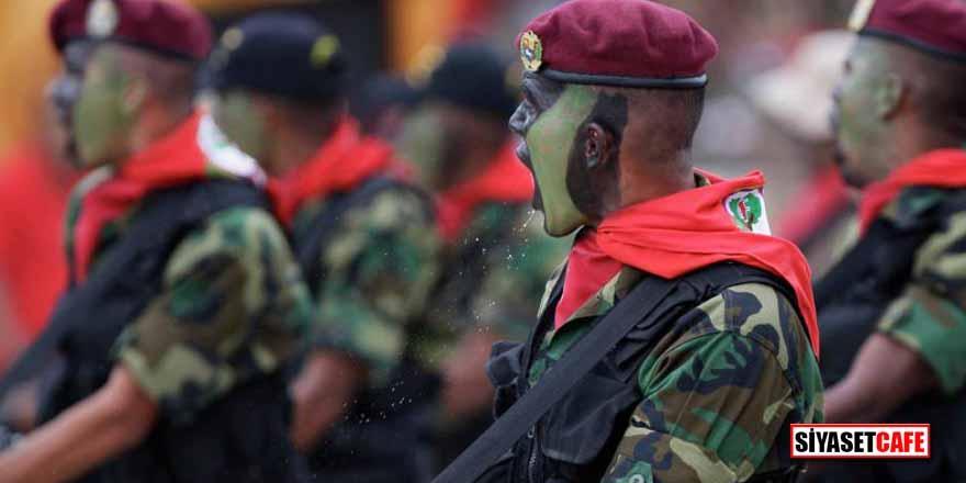 ABD, Venezuela'dan firar eden askerleri silahlandırıyor