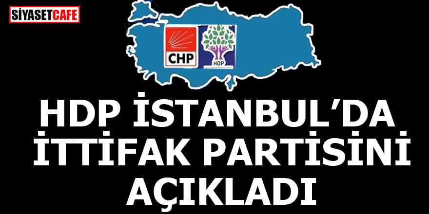 HDP İstanbul'da ittifak partisini açıkladı