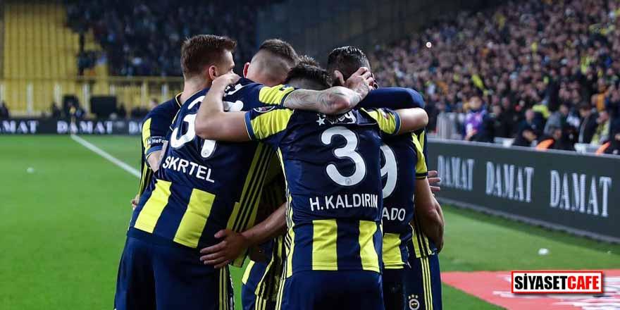 Fenerbahçe, 10 kişi kalan Çaykur Rizespor'u 3 golle geçti