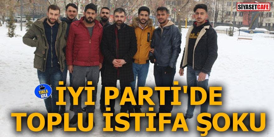 İYİ Parti'de toplu istifa şoku