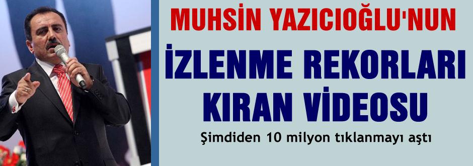 Yazıcıoğlu'nun rekor kıran videosu