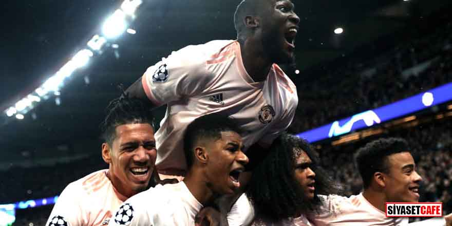 Paris'te bir ilk! Manchester United'dan muhteşem geri dönüş