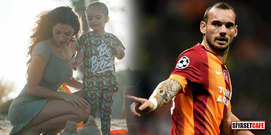 Yolanthe Cabau ile ayrılacağı iddia edilen Sneijder'den açıklama