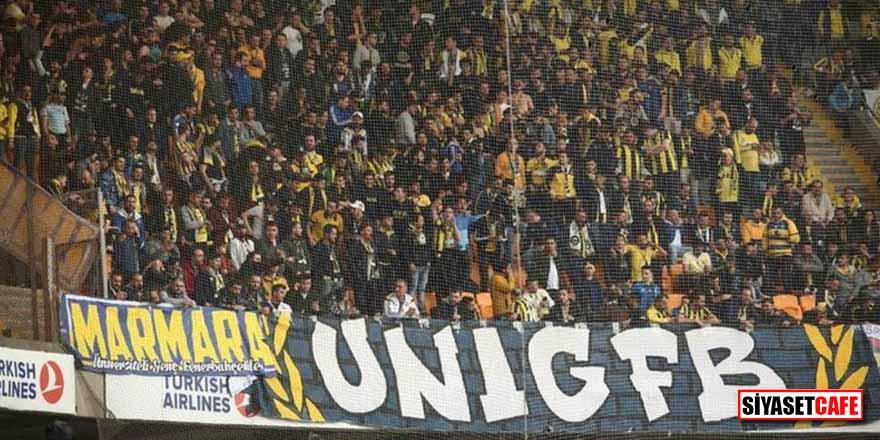 Başakşehir maçı öncesi Fenerbahçe tribünleri karıştı