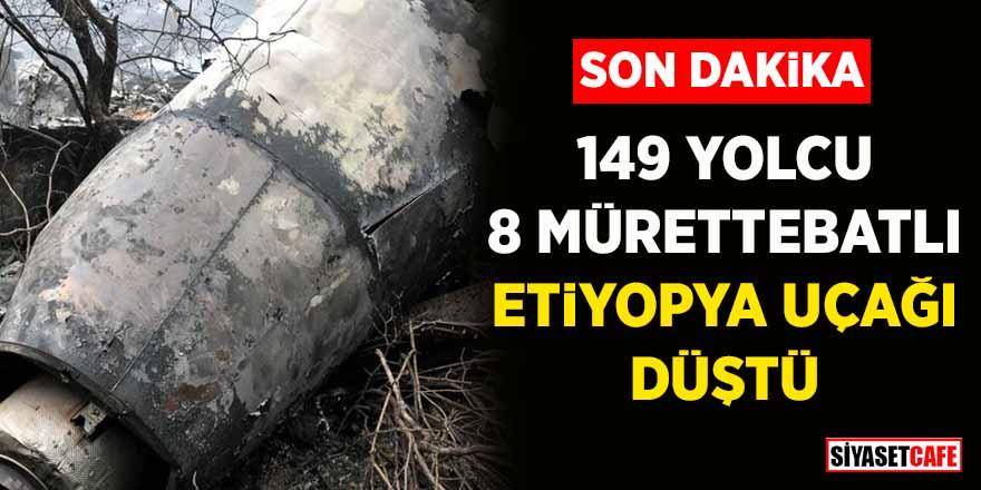149 yolcu, 8 mürettebatlı Etiyopya uçağı düştü