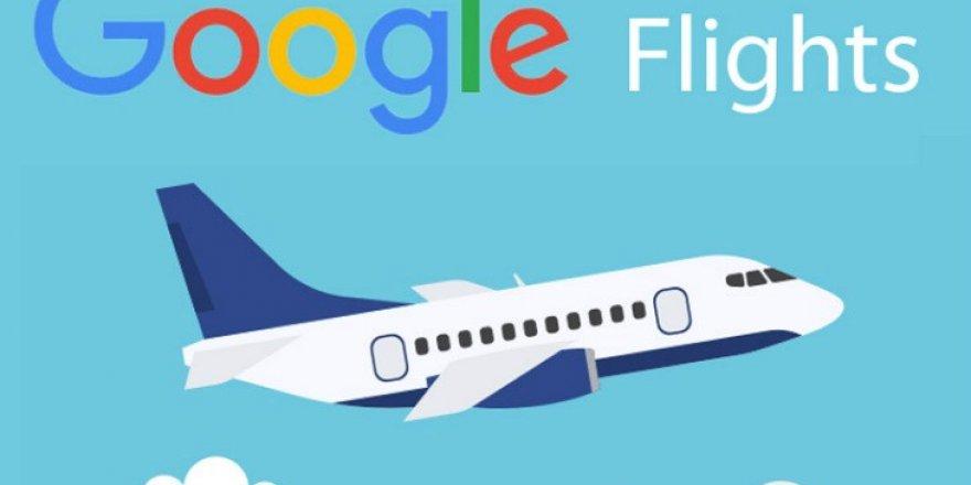 Google uçak bileti işine de girdi