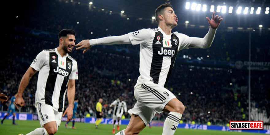 Torino'da tarihi maç! Ronaldo, Juventus'u çeyrek finale taşıdı