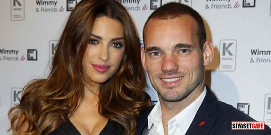 Wesley Sneijder, Yolanthe Cabau'ya şiddet mi uyguladı?