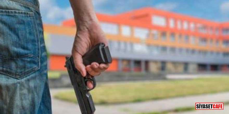 Okula silahlı saldırı! 5'i çocuk 8 kişi hayatını kaybetti