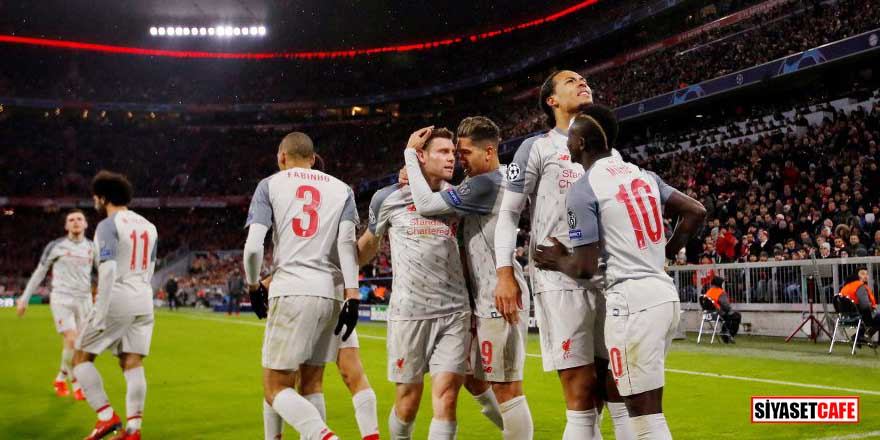 Liverpool, deplasmanda Bayern'i devirdi