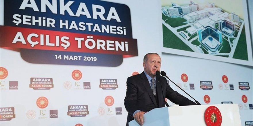 Erdoğan: Burayı görenler 'Uzay üssü' gibidiyecekler