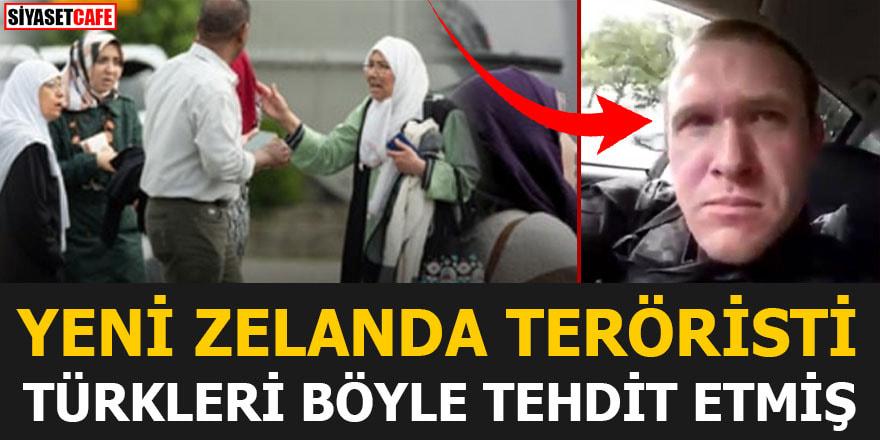 Yeni Zelanda teröristi Türkleri de böyle tehdit etmiş