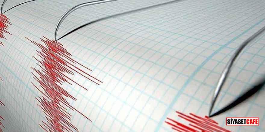 Ege Denizi'nde 4.3 şiddetinde korkutan deprem