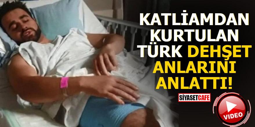Katliamdan kurtulan Türk dehşet anlarını anlattı