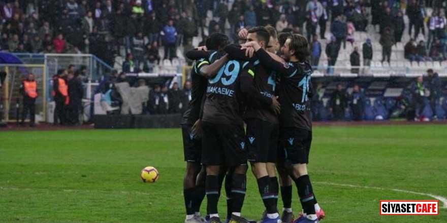Trabzonspor, Erzurumspor'u tek golle yıktı