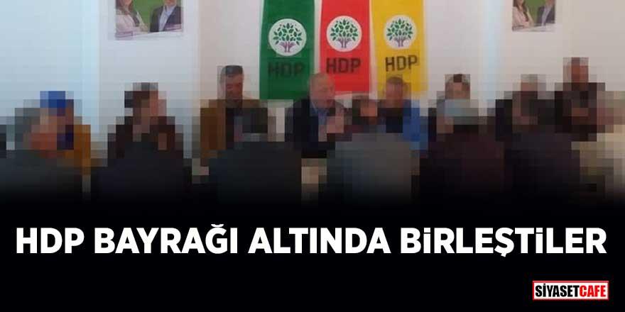 İttifak bir kez daha ortaya çıktı! CHP'li Ahmet Deniz Atabay, HDP'lilerle bir araya geldi