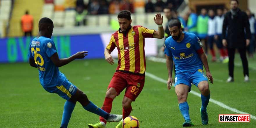 Yeni Malatyaspor galibiyet hasretine son verdi