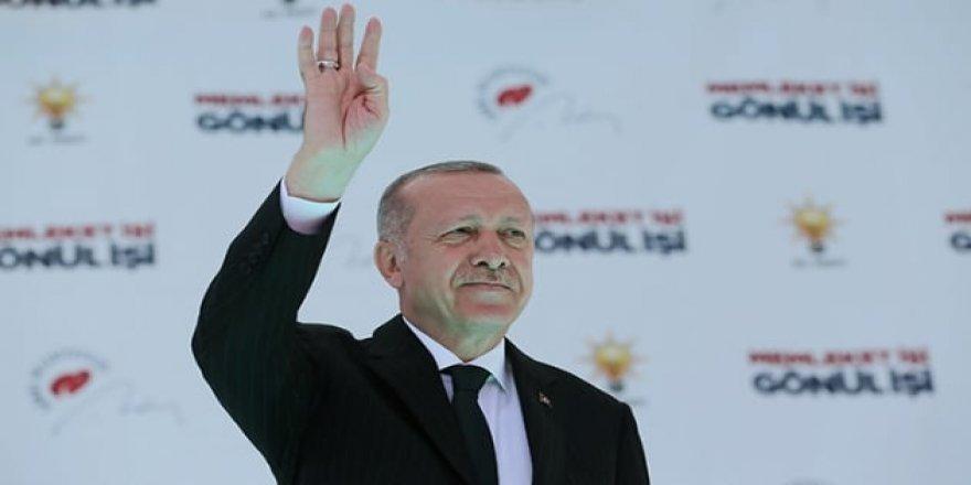 Erdoğan: Atatürk'ün muasır medeniyetler seviyesine çıkmakta kararlıyız