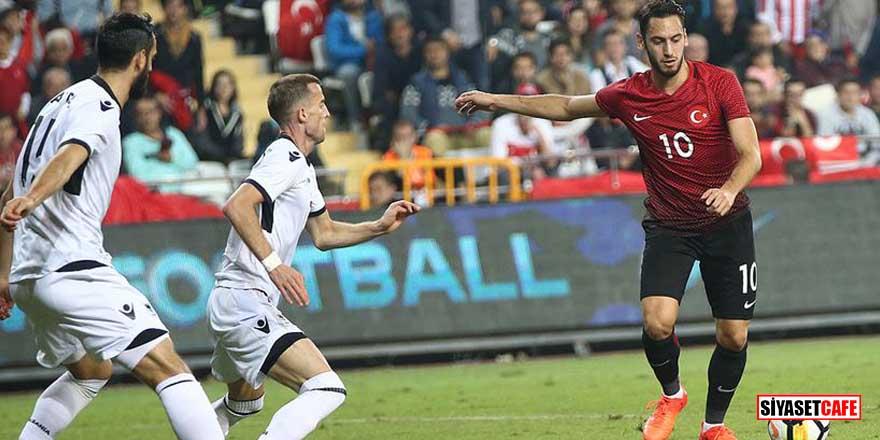 Türkiye'nin Arnavutluk ile oynayacağı maçı Alman hakem Tobias Stieler yönetecek