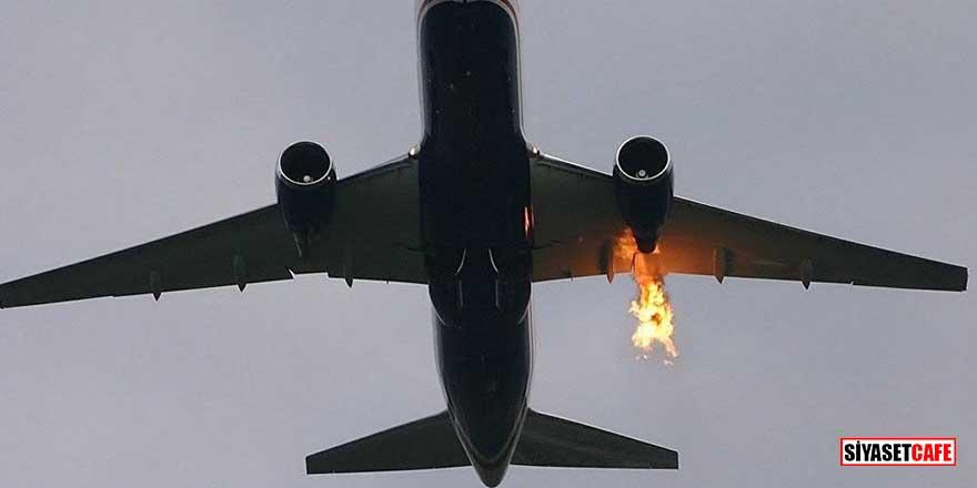 Yolcu uçağında yangın paniği! 50 kişi tahliye edildi