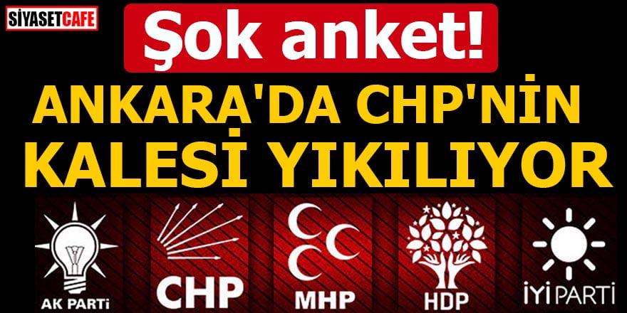Şok anket! Ankara'da CHP'nin kalesi yıkılıyor