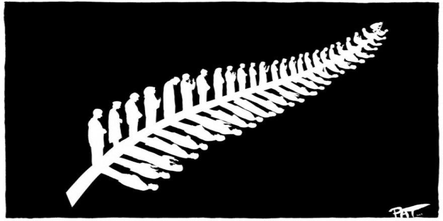 Avustralyalı karikatüristten Yeni Zelanda terörü mesajı