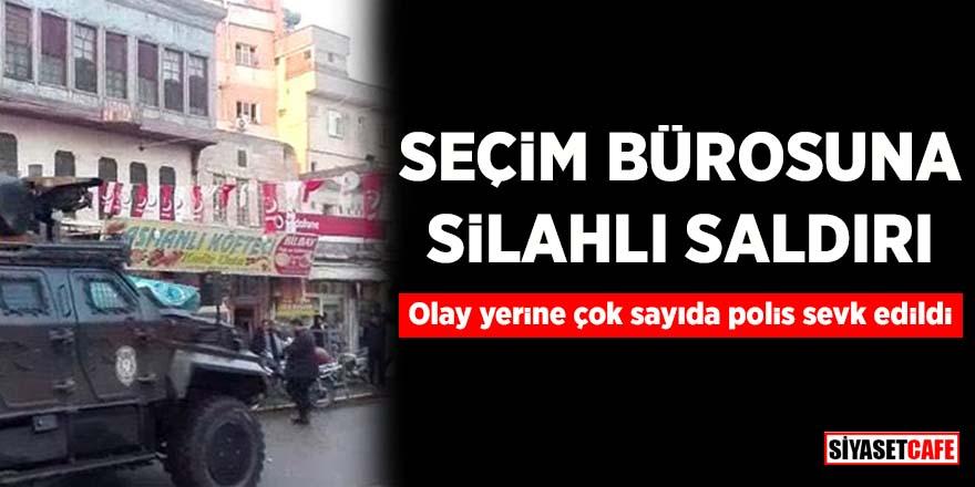 Seçim bürosuna silahlı saldırı! Saadet Parti'li Mustafa Aslan yaralandı