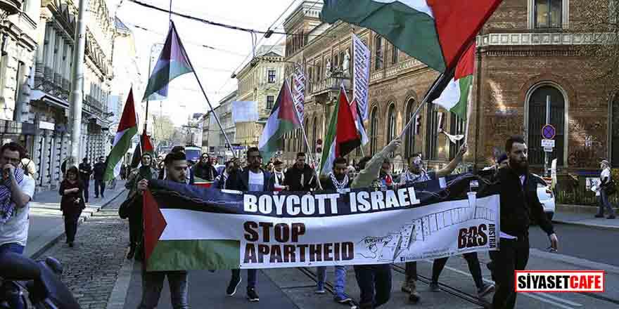 İsrail ve ABD, Viyana'da protesto edildi