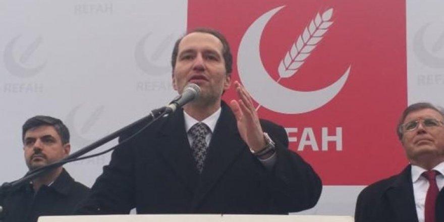 Erbakan'ın partisi ittifak seçimini açıkladı