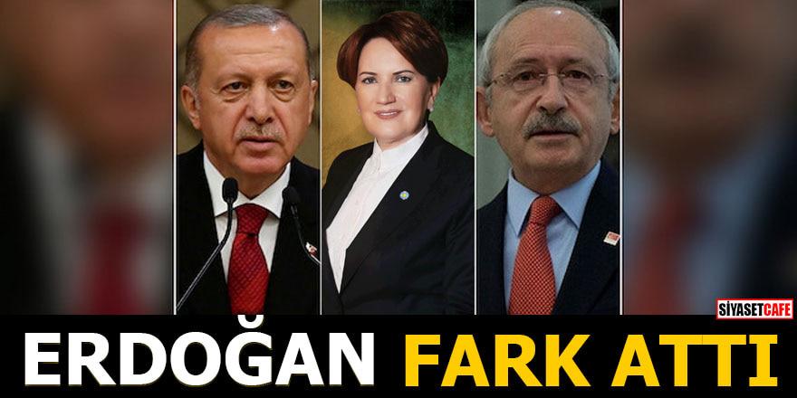 Erdoğan fark attı