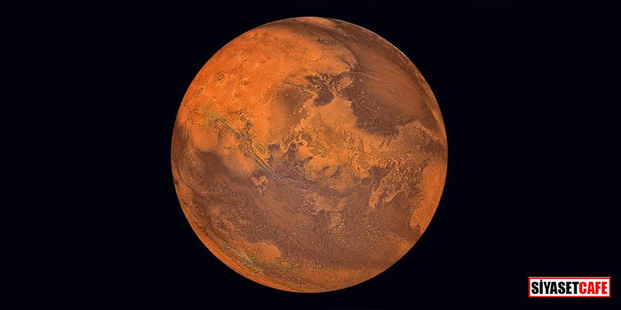 Mars'la ilgili tarihi keşif!