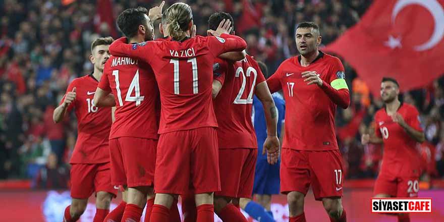 FIFA resmen açıkladı! Türkiye iki basamak yükseldi