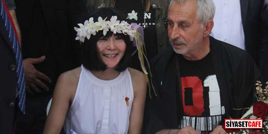 Ünlü oyuncu Rıza Akın, Miho Shimotashiro ile Adana'da evlendi